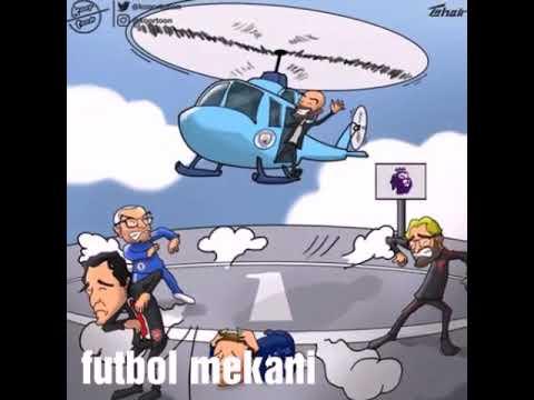 #Futbol karikaturaları;  menali karikaturalar