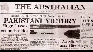 What happened in 1965 war -world claiming Pakistan Victory