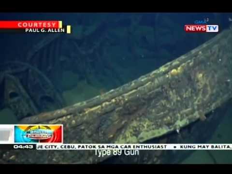 Japanese warship na Musashi, natagpuan sa ilalim ng Sibuyan Sea matapos ang mahigit ang ilang dekada