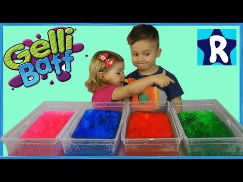 ЖЕЛЕЙНЫЕ Боксы с СЮРПРИЗАМИ per Slushy Gelli Baff Toy Disney Frozen Fashems Prizes Shopkins