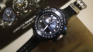 G Shock GWN 1000B-1AER Gulfmaster unboxing and review by TheDoktor210884