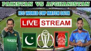 Pakistan VS Afghanistan LIVE Streaming match 36th Live highlights BOOM