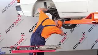 Wie MERCEDES BENZ 190 W201 Koppelstange / Pendelstütze hinten wechseln TUTORIAL | AUTODOC
