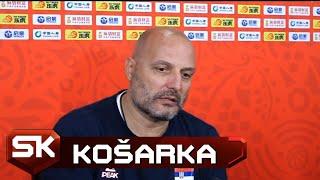 Selektor Srbije Saša Đorđević Pred Otvaranje Mundobasketa Protiv Angole   SPORT KLUB Košarka