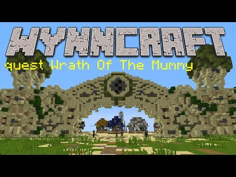 윈크래프트 퀘스트 공략-Wrath Of The Mummy Wynncraft quest Wrath of the Mummy