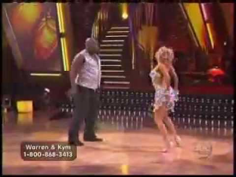 Warren Sapp and Kym Johnson Freestyle