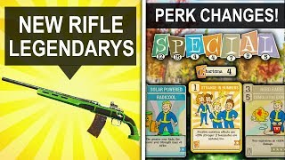 Fallout 76 HUGE UPDATE - New Sniper Legendary, Perk Changes, Bug Fixes & More (New Update)