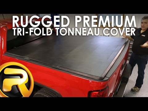 How To Install The Rugged E Series Tri Fold Tonneau Cover Youtube