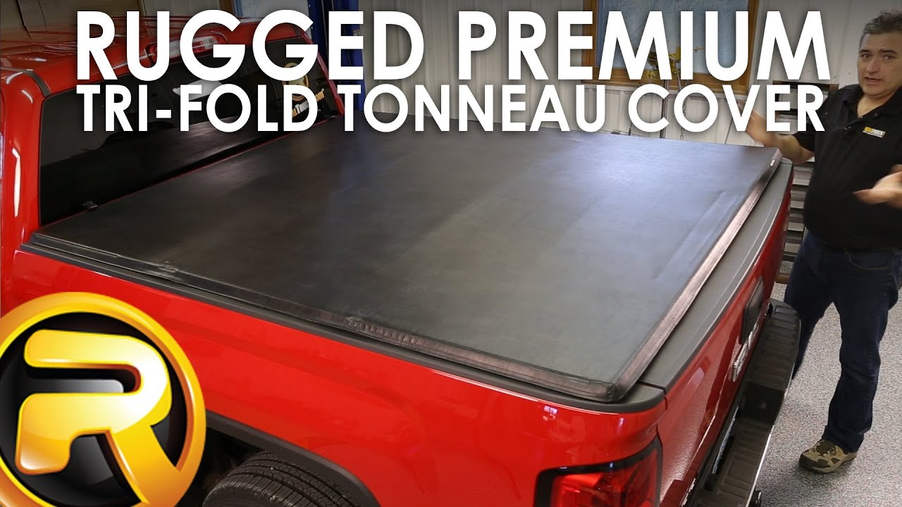 How To Install The Rugged Premium Tri Fold Tonneau Cover