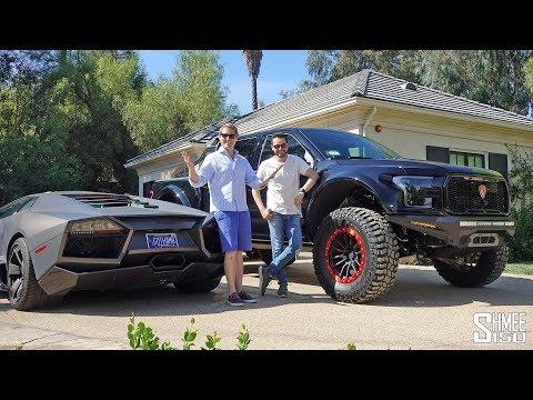 Visiting Salomondrin's Garage and Raptor S Test Drive!
