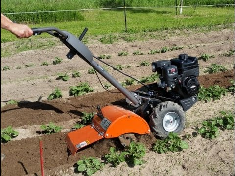 Best Middle Sized Garden Tiller to Buy Husqvarna CRT900 YouTube