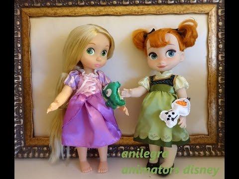Unboxing  Muñecas Animators Disney Anilegra