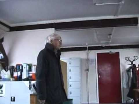 Tour around the rooms used by Radio Astronomy in the old Cavendish Laboratory, with Antony Hewish