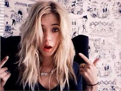Ashley Benson Hair Tutorial - YouTube