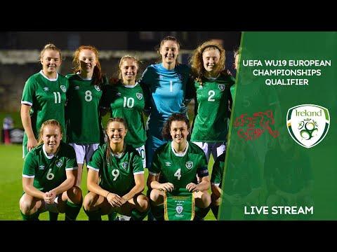 LIVE | Switzerland WU19 vs Ireland WU19 - UEFA Women's Under-19 European Championship Qualifier