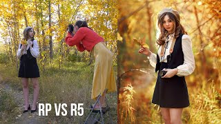 Backlit Natural Light Photoshoot, Canon R5 vs Canon RP,  Behind The Scenes