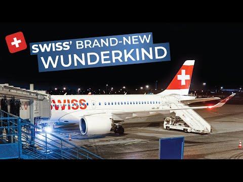 TRIPREPORT | Swiss (ECONOMY) | Bombardier CS-100 | Paris CDG - Zurich - Vienna