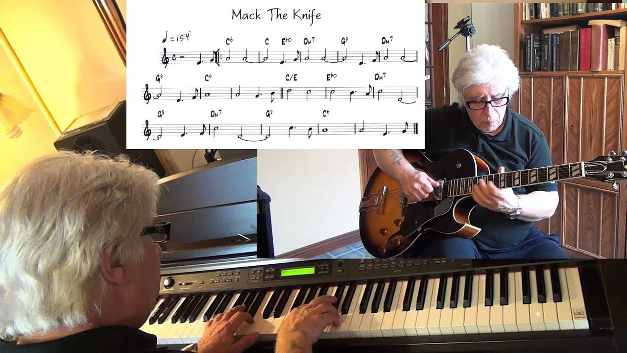 Mack the knife guitar chords
