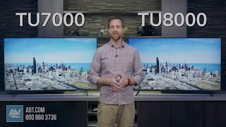 Samsung TV Comparison: TU7000 Series vs TU8000 Series