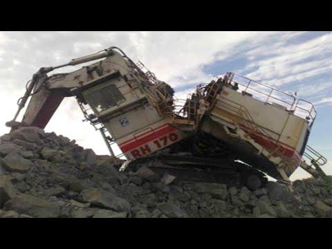 Bad Day at Work | Biggest Excavator Fails Working Compilation | Heavy Equipment Machine Working