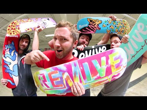 TONS OF NEW REVIVE SKATEBOARDS PRODUCT!/ ReVive Winter 2017