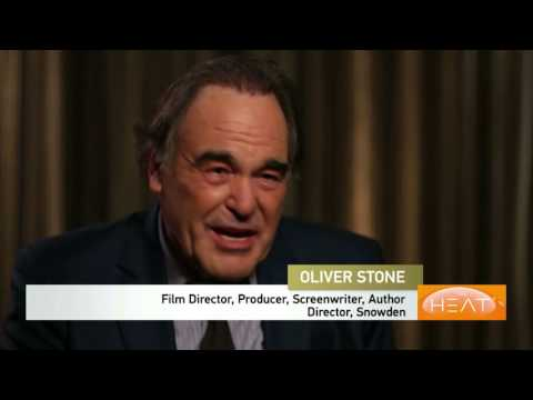 """The Heat: Director Oliver Stone talks about """"Snowden"""" PT 1"""