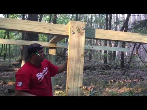 How To Raise A Deer Stand Platform Using Your ATV