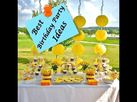 Outdoor Birthday Party Ideas - View The DIY Decoration ...