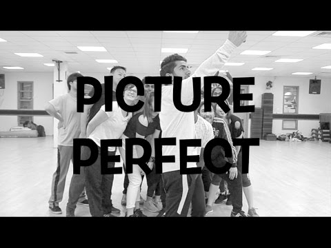 Chris Brown  Picture Perfect  @RonelTalker Choreography Beginners HipHop Class