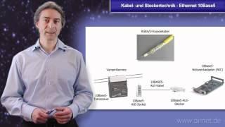 Kabel- und Steckertechnik - Ethernet 10Base5