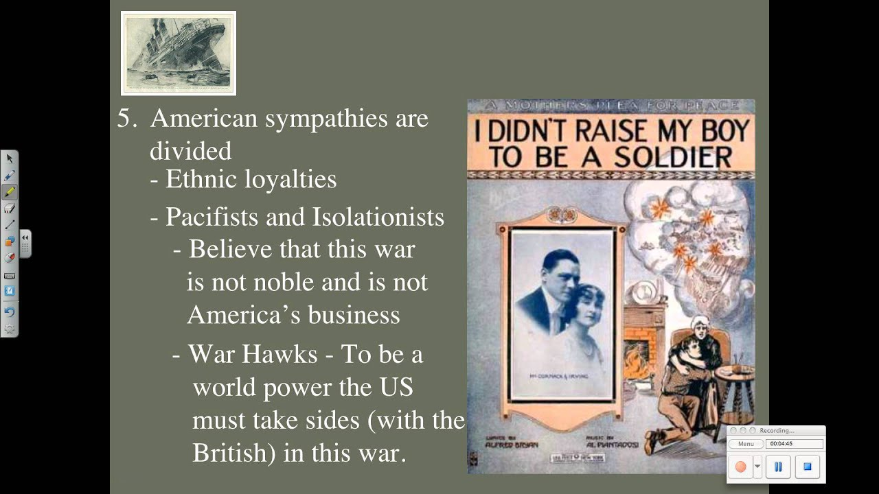 US Neutrality WWI - YouTube