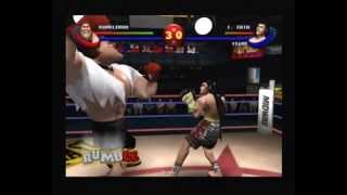 Ready 2 Rumble Boxing Round 2, Dreamcast, Rumbleman vs Jet Chin