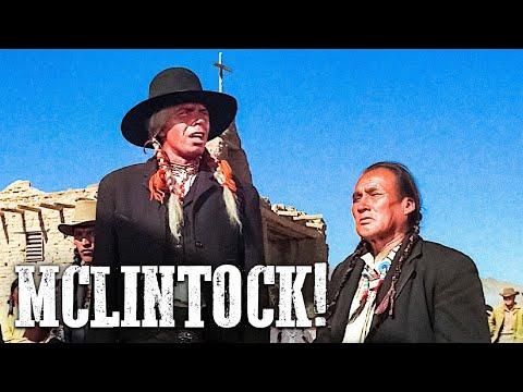 McLintock   WESTERN MOVIE   John Wayne   Free Cowboy Film   Full Movie