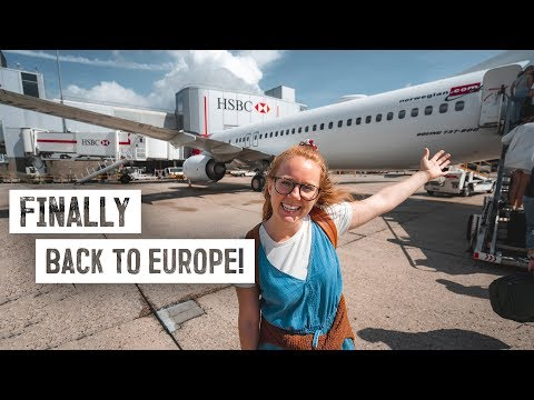 27+ Hours of NON-STOP Travel to Malmö, Sweden! (USA to Europe)