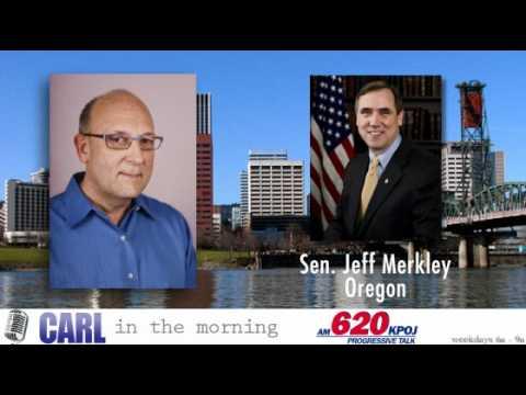 Carl Wolfson Jeff Merkley Interview 620 KPOJ