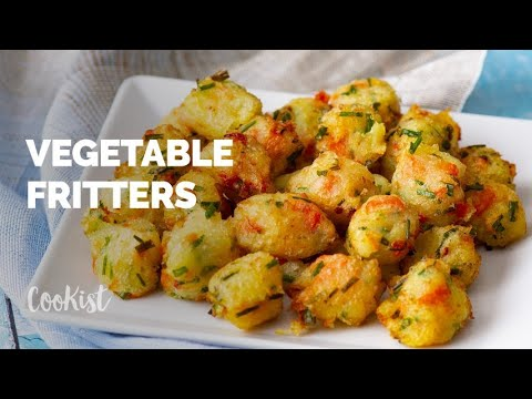 Vegetable Fritters: You Will Not Be Able To Stop At One!