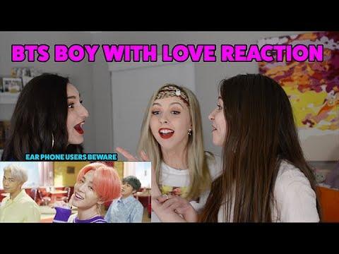 BTS (방탄소년단) '작은 것들을 위한 시 (Boy With Luv) feat. Halsey' MV  REACTION