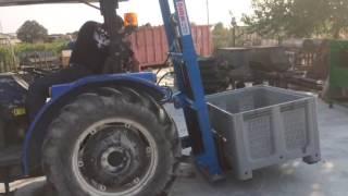 Traktör Arkası Forklift