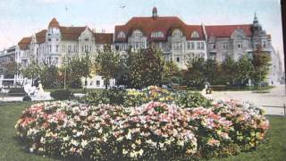 Postcard  Breslau  Kaiser Wilhelmplatz written by a soldier WW 2  postkarte postcard
