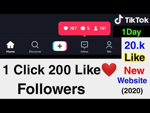Tik Tok Par 1 Click Me 200 Likes Or Followers   Tik Tok Pe Like Kaise Badhaye  
