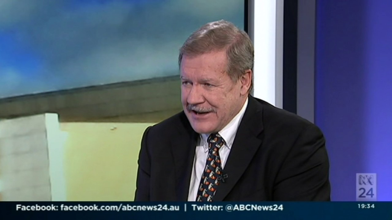 Professor Greg Austin, Australian Centre for Cyber Security, on ABC News 24