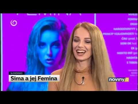 Sima a jej Femina - rozhovor so speváčkou (TV JOJ)