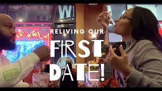 VLOG #14 | Reliving Our 1st Date + Re-Piercing My Nose | NY Vlog!