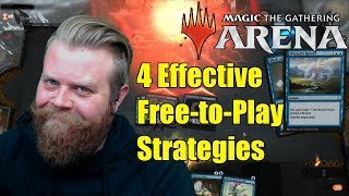 MTG Arena: 4 Effective Free-to-Play Strategies (2019)