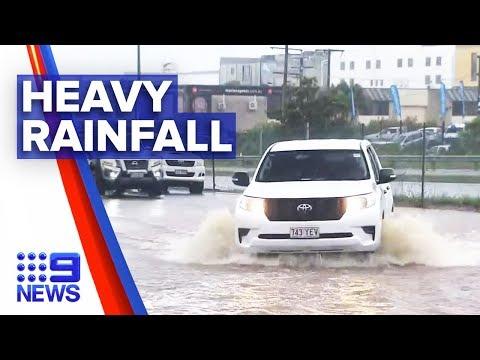 Qld Towns Flooded, Expecting More Rain | Nine News Australia