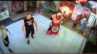 الحلقة الثالثة مصارعة المحترفين رامز حول العالم 2