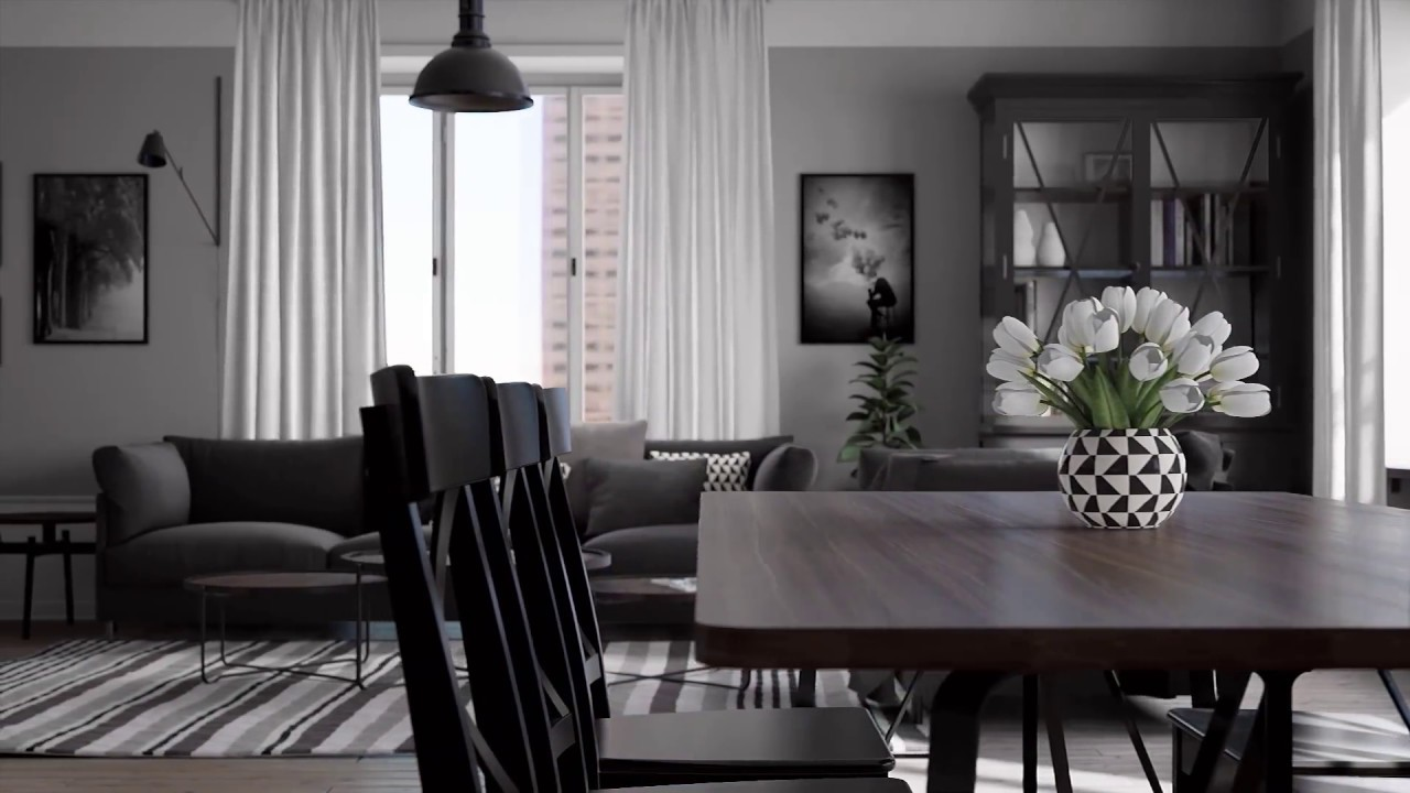 UE4 Amsterdam Apartment
