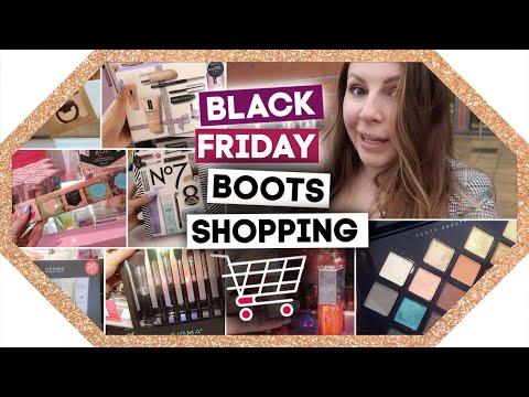 Boots BLACK FRIDAY / Christmas Shop With Me