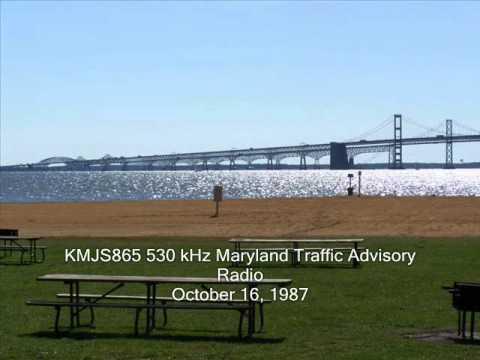 530 kHz KMJS865 Maryland Travel Advisory Radio