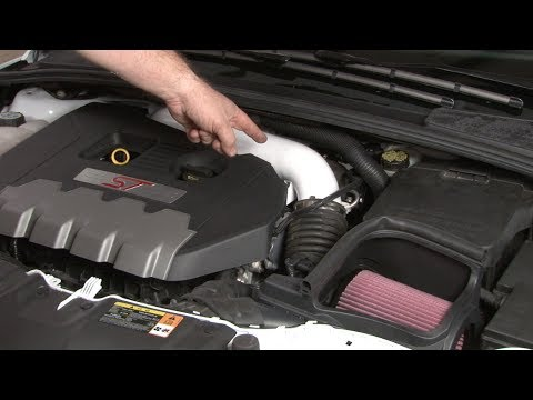 Focus St Roush Cold Air Intake Kit 2013 2018 Installation